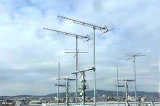 地上デジタル放送・CS・BS110度導入工事